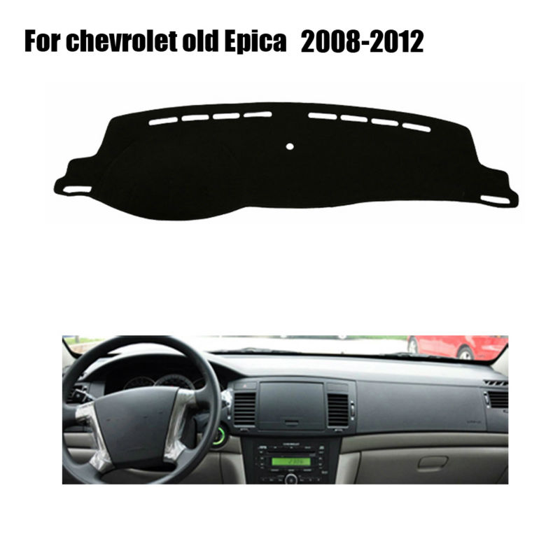 Car dashboard covers For Chevrolet old Epica 2008 to 2012 left hand drives dashmat car dash pad Instrument platform accessories(China (Mainland))