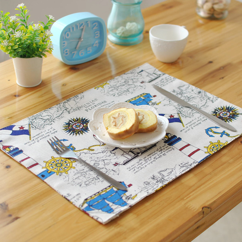 2015 Crochet Doilies Placemat For Tables New Japan Style Dinning Place Mats Eco-friendly Rectangle Wedding Decorative Placemats(China (Mainland))