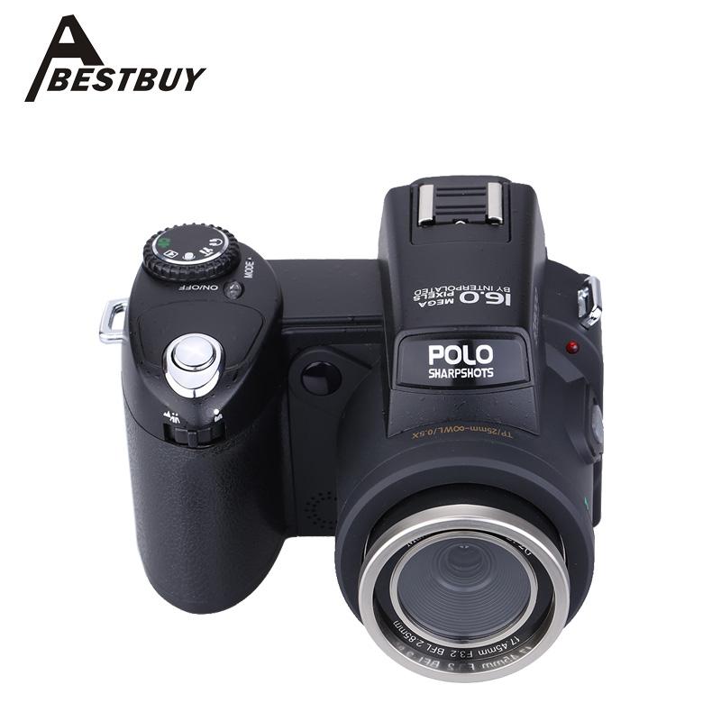 "3.0"" LTPS Screen HD Digital Camera Camcorder Photos 16MP Appareil Photo Reflex 16 Times Telephoto Lens Wide Angle Lens(China (Mainland))"