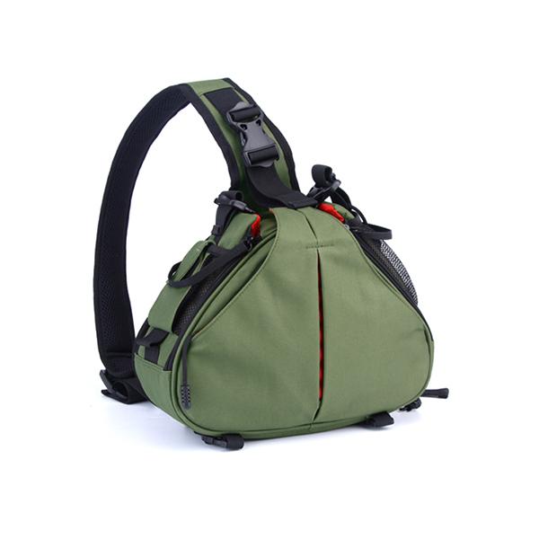 Nylon Waterproof Wear-Resistant DSLR/SLR Digital Sling Camera Case Shoulder Messenger Bag Backpack for Nikon For Canon For Sony(China (Mainland))