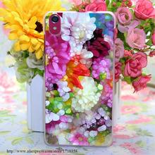 dazzling dahlia s i-322803 Style Transparent Hard Case Cover for Lenovo S850 S850T S60 S90 A563 A328 A328T