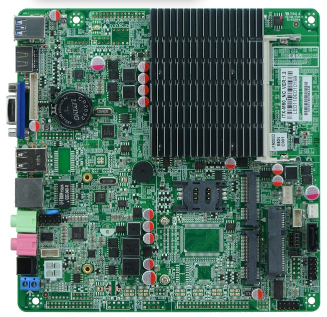 All In One Bay Trail platform Celeron J1900 Quad Core Fanless Mini ITX Motherboard(China (Mainland))