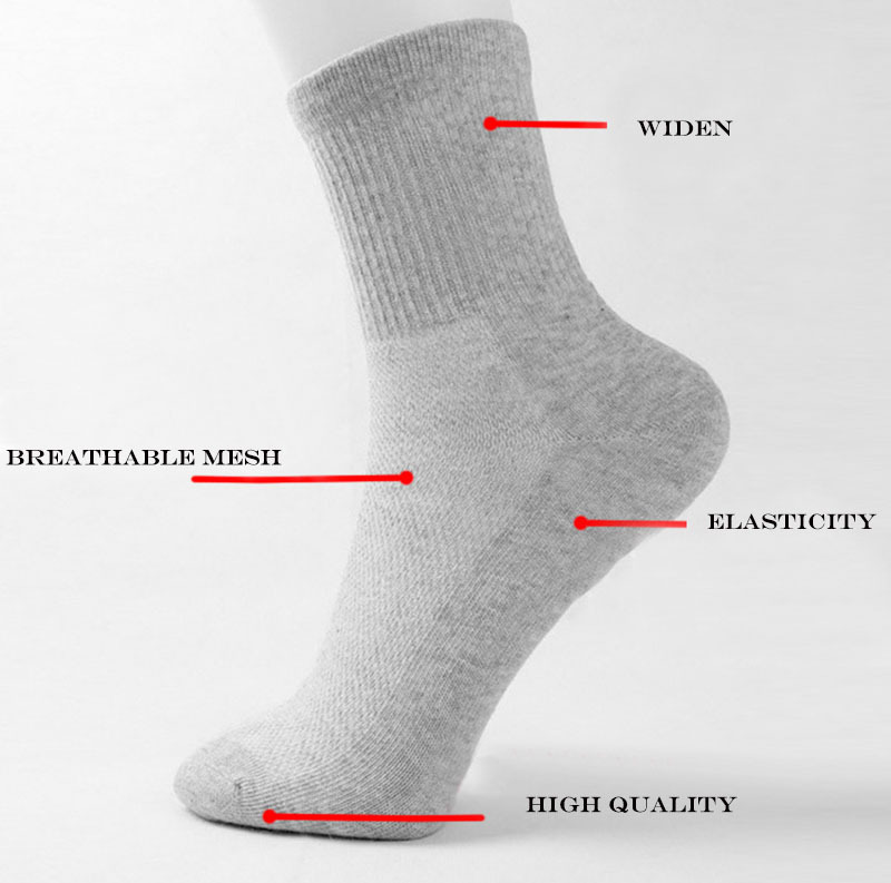 Free shipping 10 pairs Breathable thickening High Quality Casual Men's Cotton Original Brand sports socks(China (Mainland))