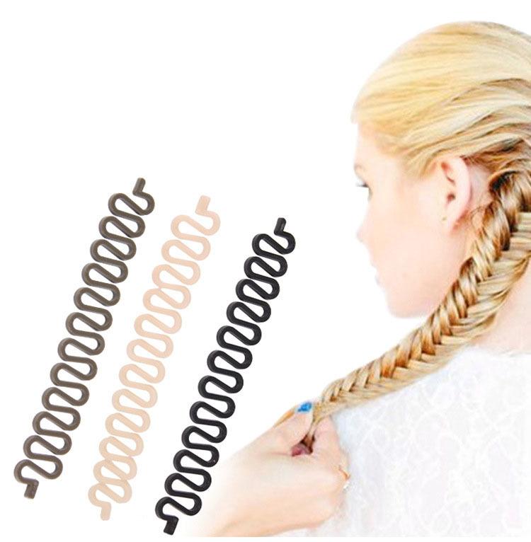 1 PC Professional font b hair b font styling tools Useful Fashion font b braided b