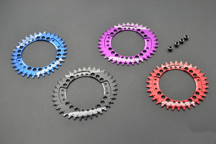 FOURIERS 104BCD 30 32 34 36 38 40 42T A7075-T651 Alloy Bike Chainring Chainwheel MTB Road Cycle Crankset Parts beyond GEAR KING