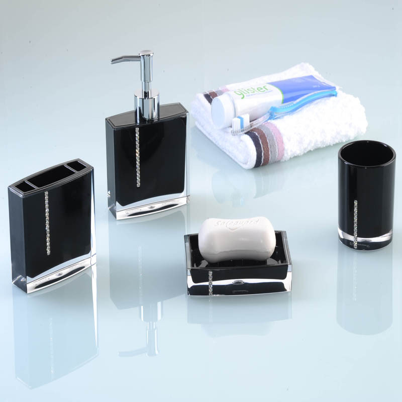 Popular purple bathroom accessories sets buy cheap purple for Fashion bathroom set