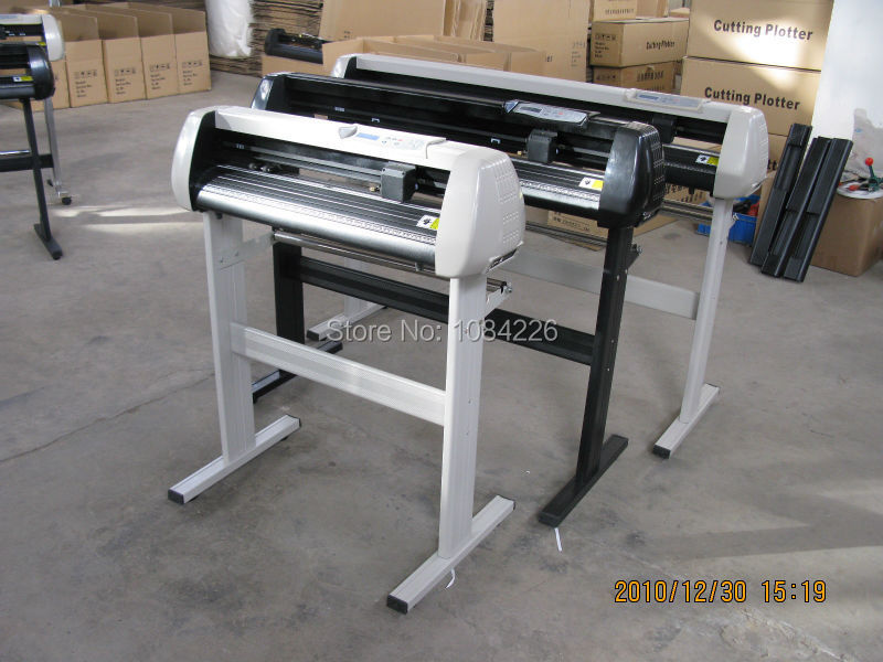 vinyl plotter cutting plotter vinyl cutter with free artcut software 2009(China (Mainland))