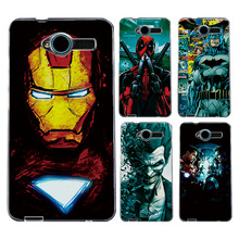 Buy ZTE Blade L3 Case Cover Charming Marvel Avengers Captain America Shield Iron man Spiderman Perfect Fundas ZTE Blade L3 for $1.39 in AliExpress store