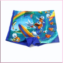 2016 New Fashion Summer Baby Boys Board Shorts Swimsuit Children s Character Swimwear Kids Swimming Pants