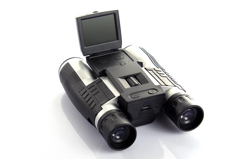 Professional 12x32 HD Binocular Telescope digital camera 5 MP digital camera 2.0'' TFT display full hd 1080p telescope camera