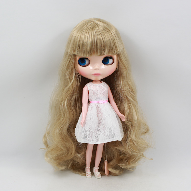 Takar Blyth cloth doll b female golden bangs long hair for big sister to baby<br><br>Aliexpress