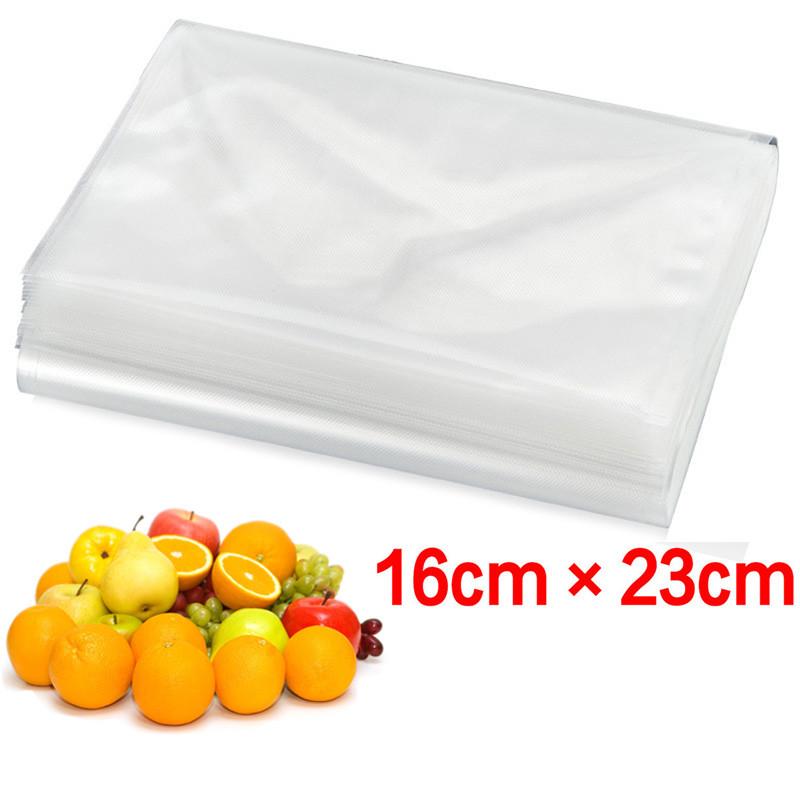 16cm*23cm vacuum bags for food Storage FOR Vacuum Sealer Saver packaging bags vacuum bag with 50PCS