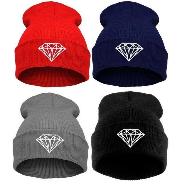 Hot Sale winter Hat Cap Beanie wool knitted men women Caps hats diamond embroidery Skullies warm Beanies Unisex free shippingОдежда и ак�е��уары<br><br><br>Aliexpress
