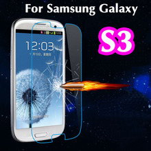Ultra Thin 2.5D Explosion Proof Premium Tempered Glass Screen Protector Anti-scratch Protective Film For Samsung Galaxy S3 I9300