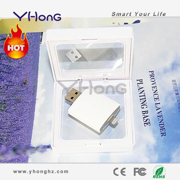 ABS Pendrive USB Flash Drive Pen Drive 32GB 16GB USB 2.0 Flash drives Memory Stick With lightning interface(China (Mainland))