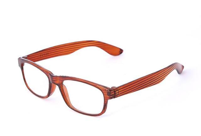 Retro Vintage Wood Design Round Oval Brown Frame Fashion