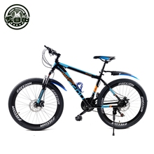 Buy Mountain Bike Aluminum mountain bike 21 speed bicycle 24/26 inch variable speed mountain bike dual disc brakes for $345.79 in AliExpress store