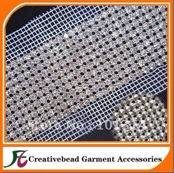 New design 10 lines rhinestone trimming for decoration with free shipping fee