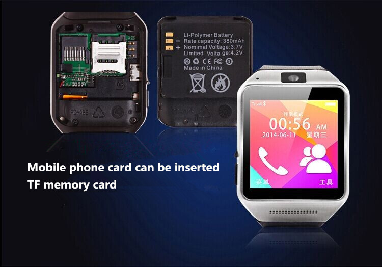 Answer a video camera phones synchronized to send and receive SMS security alarm multi-functional watches(China (Mainland))