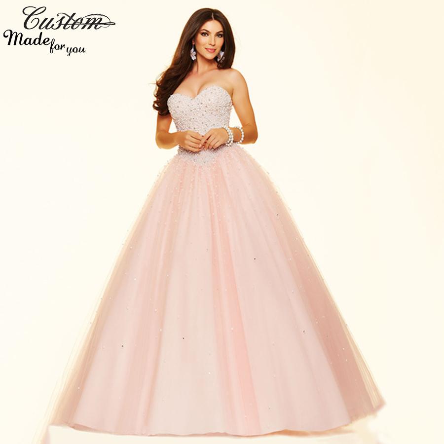 vestidos de 15 anos light pink quinceanera dresses 2016