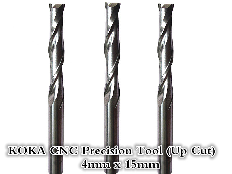 4mm*15mm,Freeshipping,CNC wood tools,carbide End Mill,woodworking insert router bit,Tungsten steel milling ,MDF,PVC,Acrylic,Wood(China (Mainland))