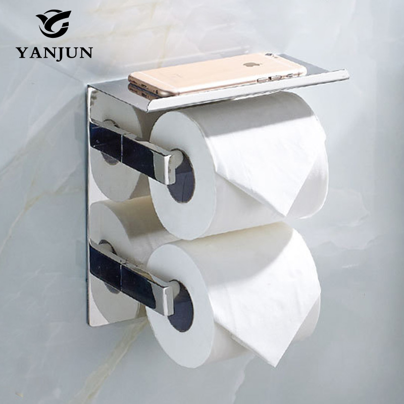 Online Get Cheap Double Roll Toilet Paper Holder