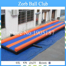 Free Shipping 9x2.7m Inflatable Tumble Track For Sale,Inflatable Air Tumble Track(China (Mainland))