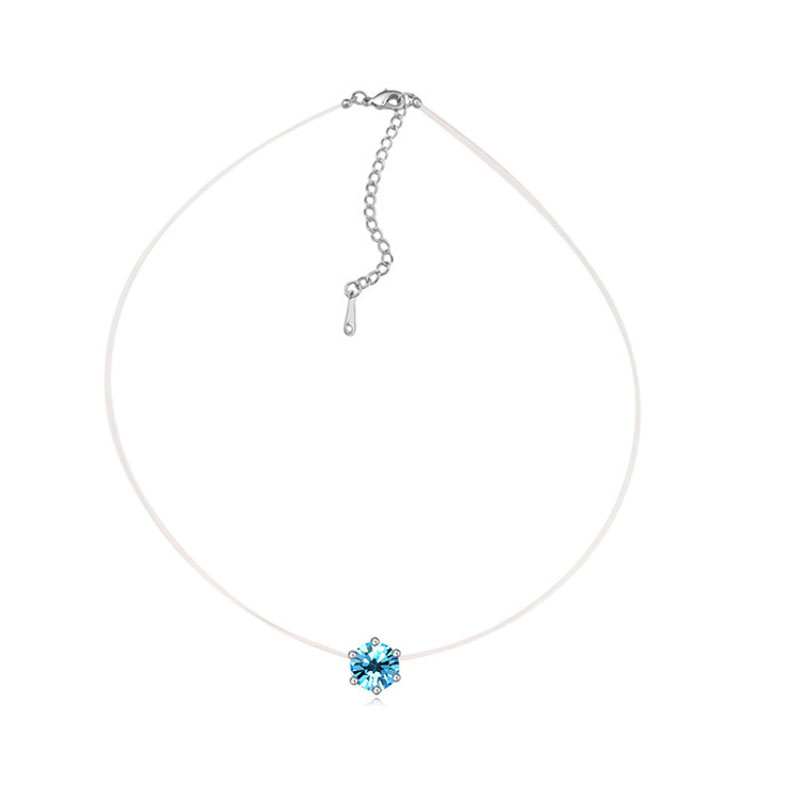 Women's Fashion Crystal Pendant Necklace of Original Crystals From Swarovski Element Jewelry Gift Wholesale(China (Mainland))
