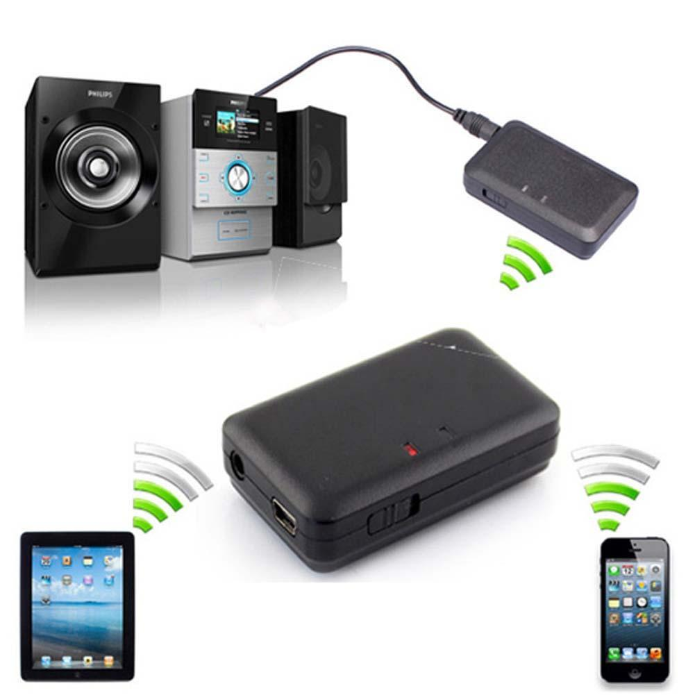 Best Price High Quality Portable 5V 3.5mm Wireless Bluetooth A2DP Audio Music Streaming Receiver Home Car AUX Adapter(China (Mainland))