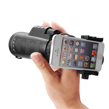 Buy Universal Common 10x40 Hiking Concert Smartphone Camera Lens Zoom Telescope Camera Lens Phone Holder Smartphone Portable for $21.58 in AliExpress store