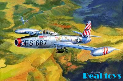 HOBBY BOSS 83207 F-84E THUNDER JET 1/32 SCALE AIRCRAFT KIT<br><br>Aliexpress