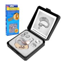 Слуховой аппарат XINGMA XM-907 Малый Невидимый Слуховые Аппараты для пожилых людей Лучший Звук Усилитель Голоса Мини Удобный За Ухом(China (Mainland))