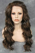 Katy Perry Wig Brown Wavy Cheap Lace Front Wigs Synthetic