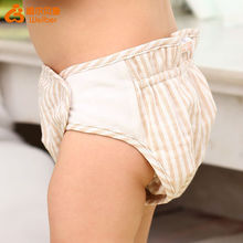Natural 100 Cotton Waterproof Baby Diaper Pants Baby Training Pants Belly Protected
