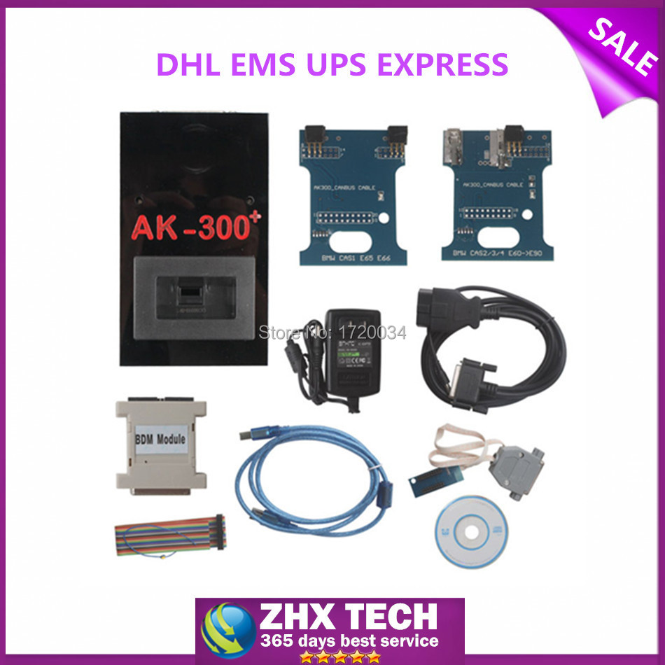 2015 New Released Excellent and Stable Original AK300+ V1.5 Key Maker for BMW CAS with 2 year(China (Mainland))