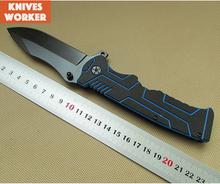 Nueva Walther P99 plegable del cuchillo de caza cuchillos cuchillo táctico G10 manejar 440 láminas herramientas de supervivencia al aire de bolsillo que acampa