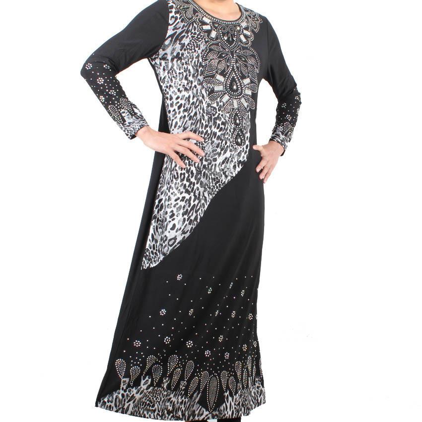 2015 Muslim black abaya Islamic clothes for women exquisite dubai beading kaftan hijab long abaya muslim maxi dress 95M8668Одежда и ак�е��уары<br><br><br>Aliexpress