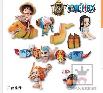 Cartoon toys wholesale WCF One Piece underwater kingdoms 6 Fishman Island Road fly Joba bulk(China (Mainland))