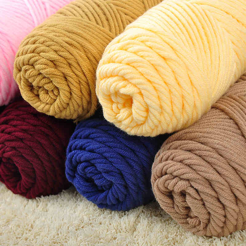 ... Knitting Wool hand woven Thick Yarn For knitting from Reliable yarn