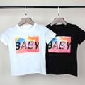 Boys clothes short sleeve t shirt summer cartoon spongebob baby girls t shirt next kids children