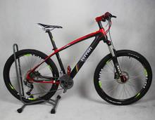 26 inch wheel diameter 27-speed carbon fiber mountain bike  Ultra light mountain bike(China (Mainland))