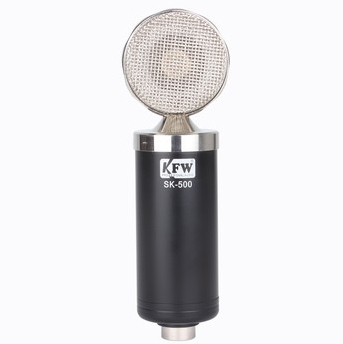 Hot sale KFW SK-500 computer recording capacitor microphone microphones computer recording cover songs skype chat network Black(China (Mainland))