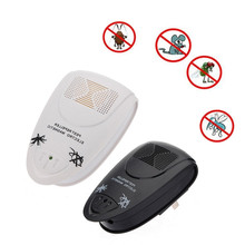Best sale Ultrasonic Electronic Anti Mosquito Insect Pest Rat Mouse Bug Repellent Electro Repeller Magnetic(China (Mainland))