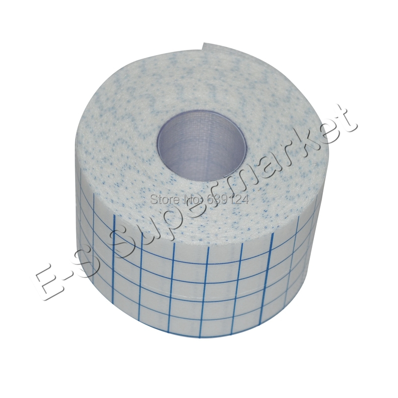 5cm x 10m Stretch Adhesive Bandage Gauze Fixomull Tape Hypoallergenic Nonwoven Adhesive Wound Dressing Cover Roll-stretch