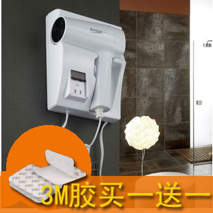 Free Shipping Anmon Wall Mounted Electric Hair Dryer Wall Hair Dryer Bathroom Hair Dryer Belt