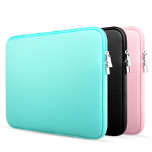 new arrival universal fashion soft laptop Sleeve pouch bag Case cover For Apple Dell Lenovo HP notebook laptop computer 15.6 14(China (Mainland))