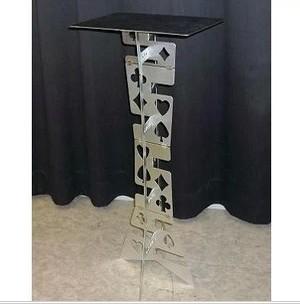 Free shipping best selling aluminium alloy folding table magic table magic props magic tricks high quality