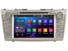 Android 4.4  Car DVD player Radio Stereo GPS  for  Toyota Camry Aurion 2006 – 2011  /   3G WIFI OBD DVR / 1024*600 HD screen