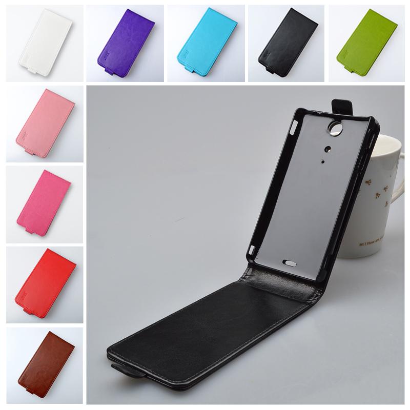 Гаджет  J&R Brand Flip Magnetic Flip pu high quality Leather cover for sony Ericsson Xperia TX lt29i Case 9 colors None Телефоны и Телекоммуникации