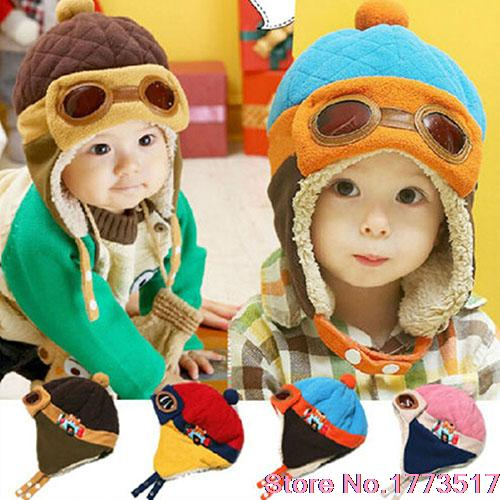 2015 New Design   Winter Baby Earflap Toddler Girl Boy Kids Pilot Aviator Cap Warm Soft Beanie Hat Одежда и ак�е��уары<br><br><br>Aliexpress